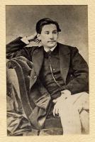 Benito Pérez Galdós 19 años