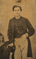 Benito Pérez Gladós con 19 años
