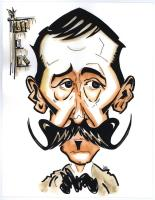 Caricatura - Néstor Dámaso del Pino