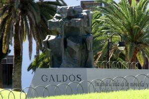 Escultura de Pérez Galdós - Pablo Serrano